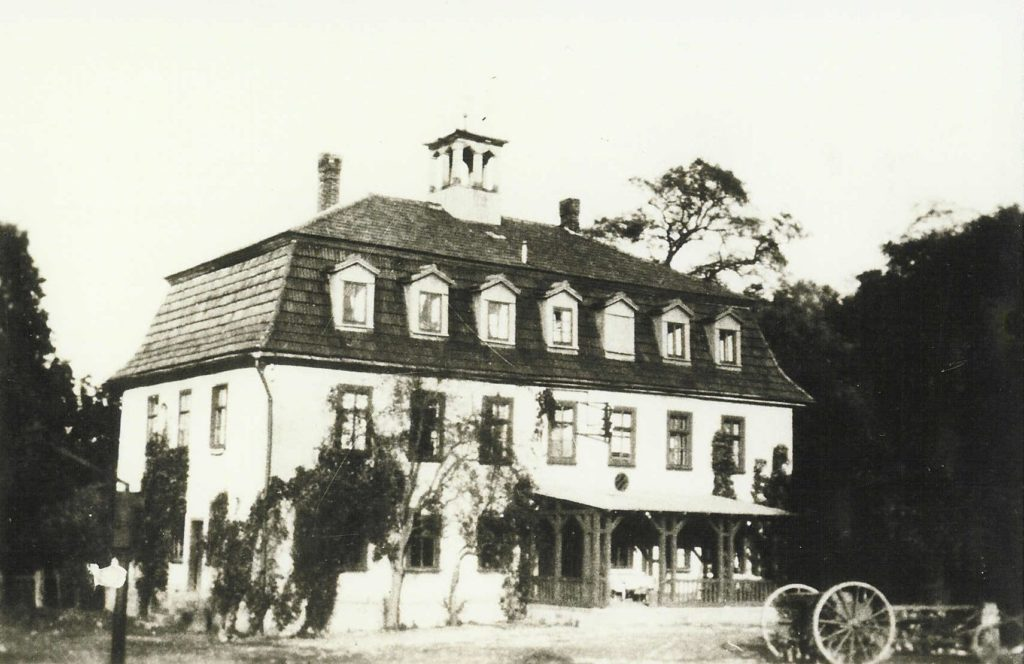 Manor house around 1900